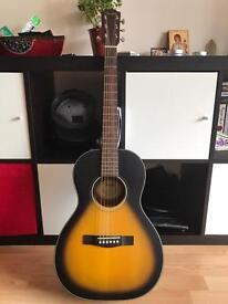 Fender cp-100 parlour acoustic guitar