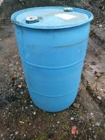 45 gallon plastic barrel / drum