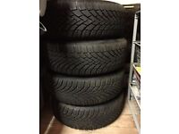 Winter Tyres - Set of 4 Continental WinterContact TS850 tyres. Size 185 / 60 R14 T