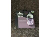 Brand new (unopened) Tommie Tippee closer to nature bottles x2