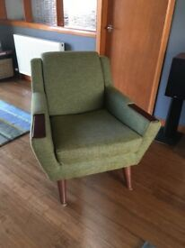Vintage Retro G Plan Fifty Five Armchair