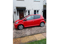 Toyota Aygo Move With Style VVT-I 5 door. Only 9600 miles ! One family owned from new.