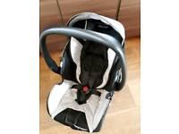 Recaro Young Profi plus infant car seat and isofix base