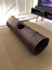 Cat play tunnel, 2 small soft cat carriers