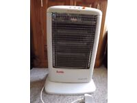 Suntik 1200w Oscillating 3 bar Halogen Electric Heater