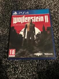 Wolfenstein 2 // ps4