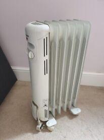 Dimplex oil filled thermostatic 1500W radiator