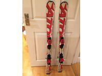 Atomic unisex 120 junior skis with bindings -