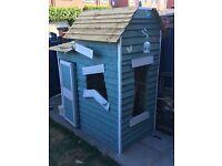 Handmade Wooden playhouse