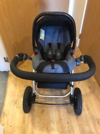 Isafe system pushchair