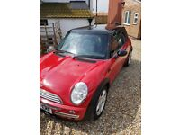 Red and black mini 04 plate good condition mot march 19