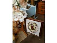 Victorian Shabby Chic Dressing Table and Mirror
