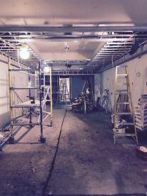 Metal stud fixer, plasterboarder, dryliner, drylining