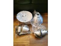 Pair of Ikea - Foto - Pendant Lamp - Aluminium