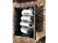 4 x Fan Heaters