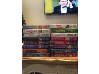 Disney films collection VHS