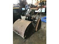 Vintage Atco lawnmower with 2 stroke villers kick start