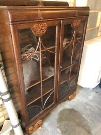 Wooden cabinet/book case
