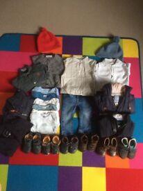 Petit Bateau, Jacadi clothes & Bobux shoes Perfect Condition Entire lot £180