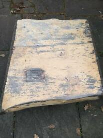 Hand made solid wood designer table