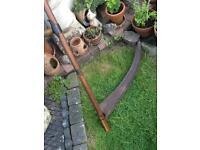 vintage scythe