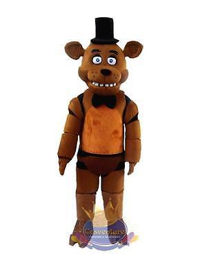 Five Nights at Freddy's Mascot Costume FNAF Freddy Fazbear Cosplay Halloween.](Fnaf Halloween Costumes)