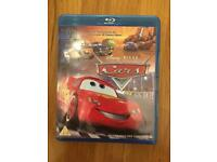 Disney cars Blu-ray dvd.