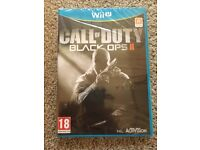 Nintendo Wii U Call Of Duty - Black Ops II New & Sealed
