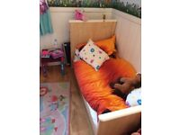 Free Toddler bed & wardrobe