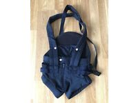 Navy baby carrier