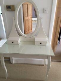 Ikea Hemnes Dressing Table - white