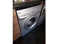 washing machine grey beko