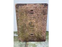 Cast Iron Drain Manhole Cover and Frame