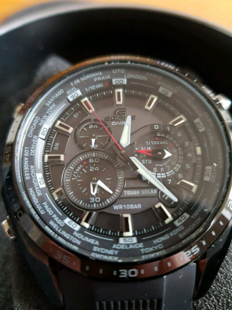 Casio edifice divers watch
