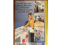 FujiFilm Pro36 Wide format Poster/Banner Maker/Printer
