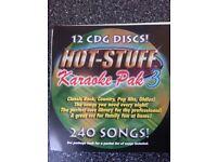 Karaoke Discs CDG format thousands of songs