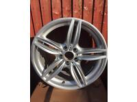 """Bmw 20"""" M sport to fit 5 series front"""