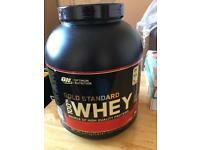 ON gold standard 100% whey proteins