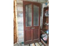 second hand front door