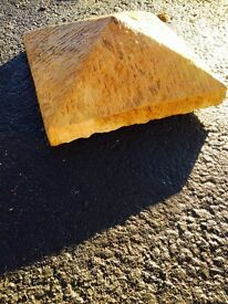 Builders Yard Sale *Excess Stock*; 20 NEW Millstone pillar caps.