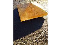 Builders Yard Sale *Excess Stock*; 20 NEW Millstone pillar caps.