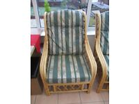 Cane/Wicker Chair - Very Good Condition! Free Delivery Possible!
