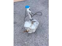 Honda CRX VTEC EE8 washer bottle complete with washer motors