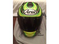 Arai RX-7 GP Crutchlow 2014 helmet - Size Small