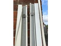 Venetian white blinds-used
