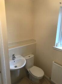 Full bathroom suite, Roca Basin, semi ped Close coupled W/C & Cistern & bath all complete & in VGC