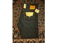 Brand new Levi 501 jeans with tags waist 40 length 34