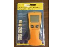 Stud finder, metal and AC Live wire detector