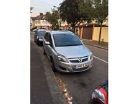 VAUXHALL ZAFIRA ECO ENGINE 2012, 1.7 diesel,49800 mileage,long MOT,MINT CONDITION