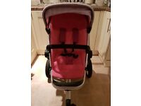 Pink Quinny Buzz pushchair